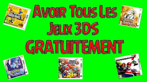jeux 3DS gratuit